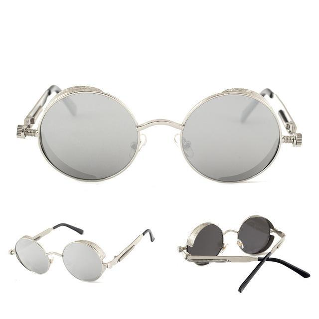 Gothic Round Vintage Sunglasses - Jewelux & Co.
