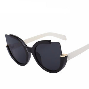 Half Frame Cat Eye Sunglasses - Jewelux & Co.