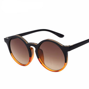 Oversized Round Sunglasses - Jewelux & Co.