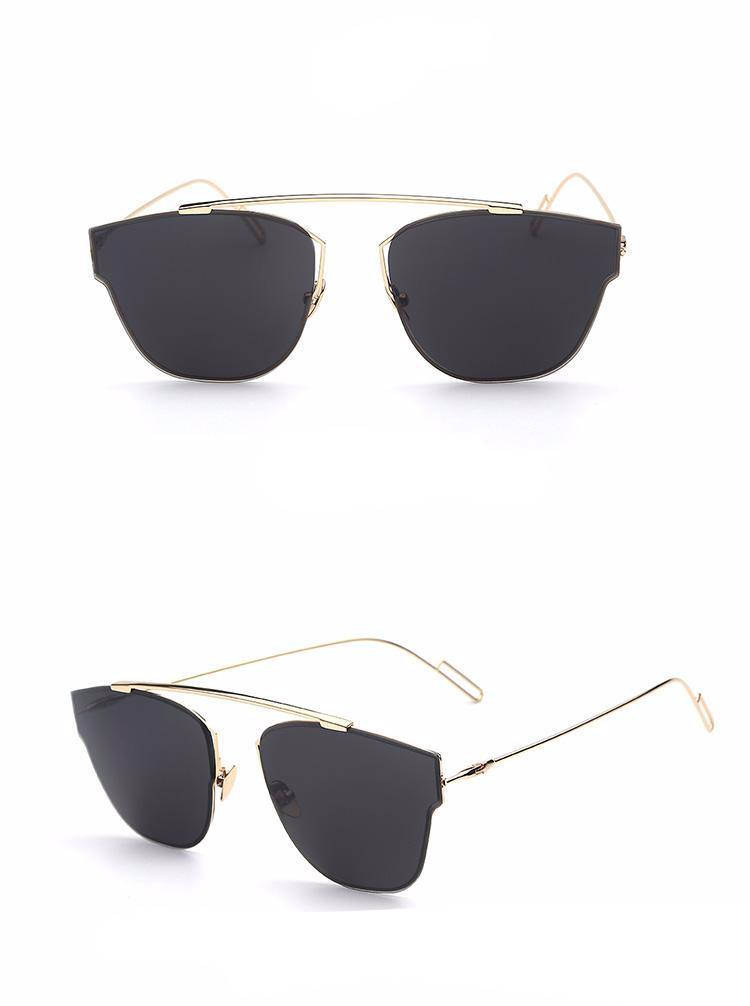 Oversized Thick Frame Sunglasses – Jewelux & Co.