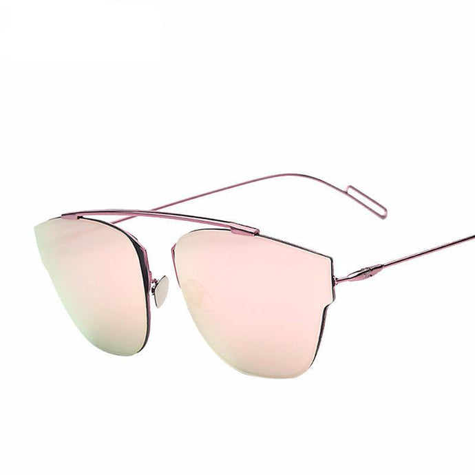 Oversized Thick Frame Sunglasses - Jewelux & Co.
