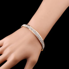Simple Crystal Bangle - Jewelux & Co.