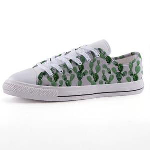 Cactus Low-top fashion canvas shoes (size 32 to 43)