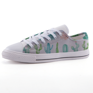 Cactus Row: Low-top fashion canvas shoes (size 32 to 43)