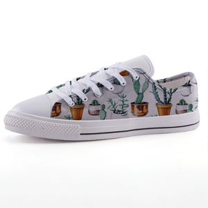 Cactus Pots Low-top fashion canvas shoes (size 32 to 43)