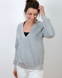 Raglan sweater voor dames