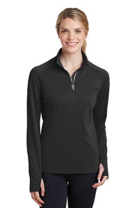 Lakota Lacrosse Club Split Color Womens Quarter Zip