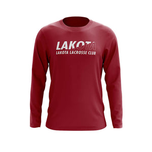Lakota Lacrosse Club Youth Split Color Long Sleeve