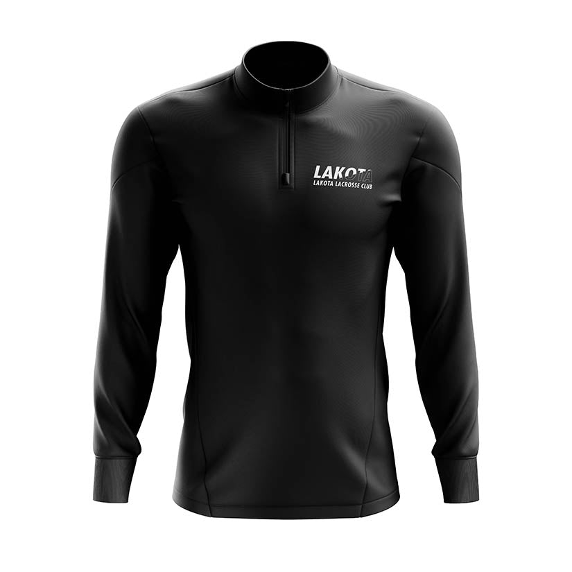 Lakota Lacrosse Split Color Quarter Zip