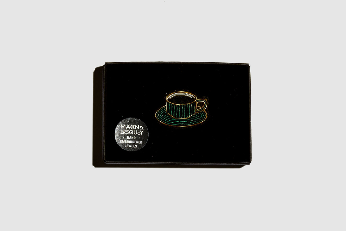 CUP OF COFFEE Brooch