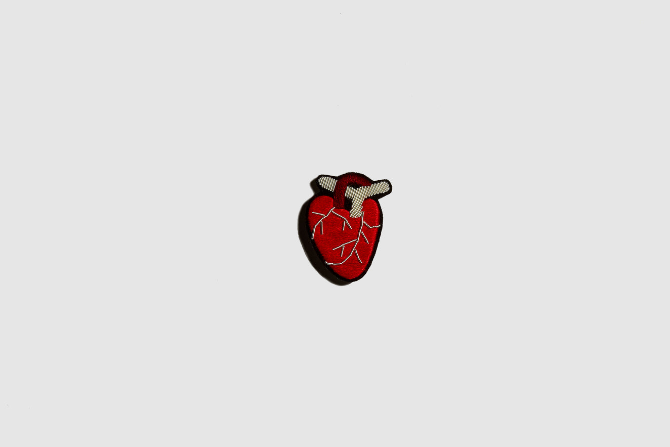 ANATOMICAL HEART Brooch