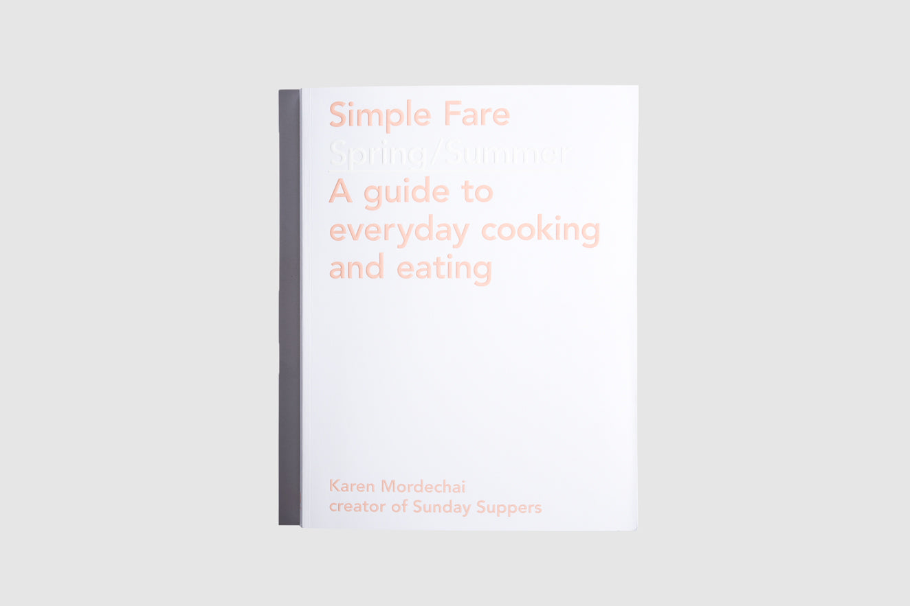 Simple Fare Cookbook (SS/FW)