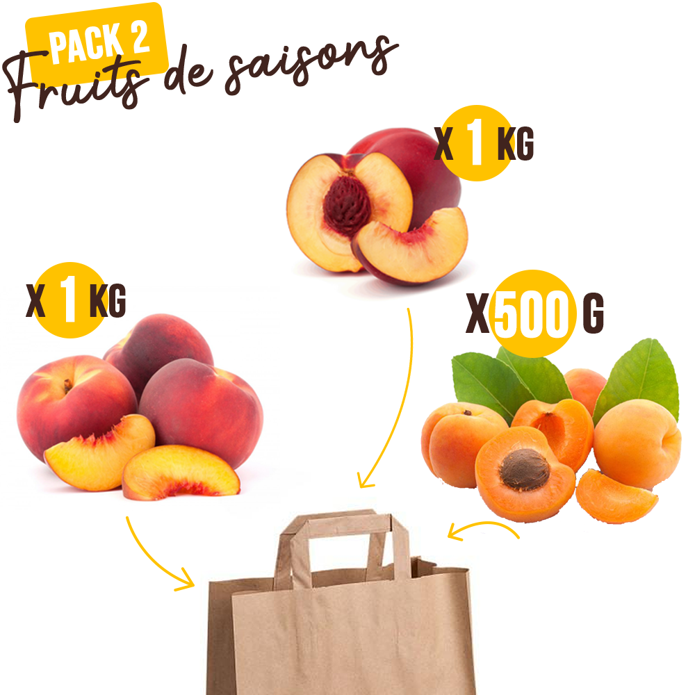 Pack 2 de fruits