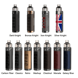 ΚΑΣΕΤΙΝΑ - VOOPOO DRAG X 80W TC + POD TANK 4.5ML ( CHESTNUT / ΚΑΣΤΑΝΟ )