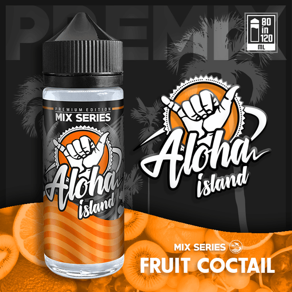 ALOHA ISLAND MIX-SHAKE-VAPE - 80/120ML - FRUIT COCTAIL (ΚΟΚΤΕΙΛ ΦΡΟΥΤΩΝ)