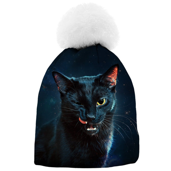 ALOHA FROM DEER - ΣΚΟΥΦΟΙ / BLACK CAT (UNISEX)