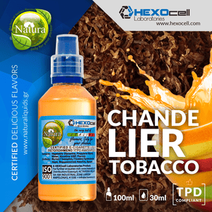 NATURA MIX-SHAKE-VAPE - 30/60ML - CHANDELIER TOBACCO (ΦΡΟΥΤΩΔΗΣ ΚΑΠΝΟΣ)