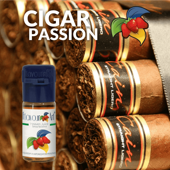 CIGAR PASSION 10ML (ΠΟΥΡΟ)