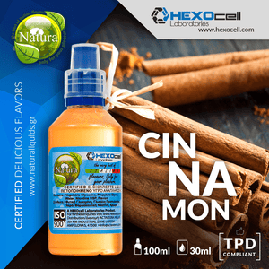 NATURA MIX-SHAKE-VAPE - 30/60ML - CINNAMON (ΚΑΝΕΛΑ)