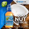 NATURA MIX-SHAKE-VAPE - 30/60ML - COCONUT TYPE #1 (ΚΑΡΥΔΑ ΕΚΔΟΧΗ #1)