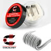 2x COILOLOGY STAGGERED FUSED CLAPTON Ni80 0.23 OHM ΑΝΤΙΣΤΑΣΗ ( 28GAx2 + 36GA )