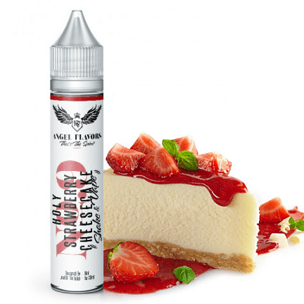 EGOIST ANGEL MIX-SHAKE-VAPE - 6/30ML - HOLY STRAWBERRY CHEESECAKE (ΤΣΙΖΚΕΙΚ ΦΡΑΟΥΛΑ)