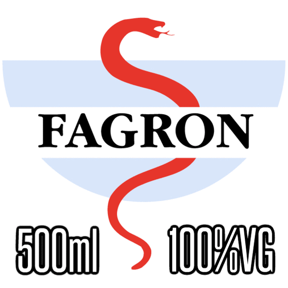 NEUTRAL BASE 0MG FAGRON 100/0 VG/PG - 500ML