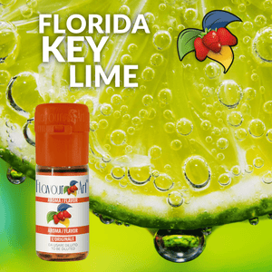 FLAVOURART - 10ML FLORIDA KEY LIME (ΚΙ ΛΑΙΜ) ΣΥΜΠΥΚΝΩΜΕΝΟ ΑΡΩΜΑ