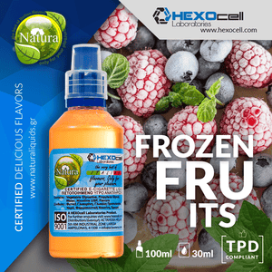 NATURA MIX-SHAKE-VAPE - 30/60ML - FROZEN FRUITS (ΓΡΑΝΙΤΑ ΦΡΟΥΤΩΝ)
