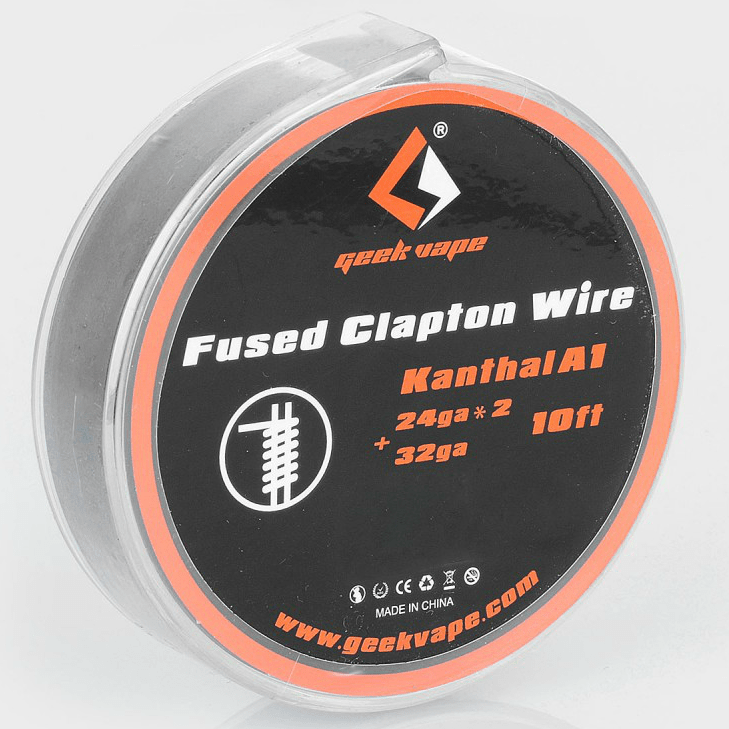 GEEKVAPE FUSED CLAPTON WIRE KANTHAL A1 24GAx2 + 32GA ΣΥΡΜΑ (3Μ)