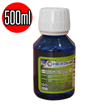 NEUTRAL BASE 0MG HEXOCELL SUPERHEAVY INDUSTRIES 0/100 VG/PG - 500ML (ΒΑΣΗ ΧΩΡΙΣ ΝΙΚΟΤΙΝΗ)