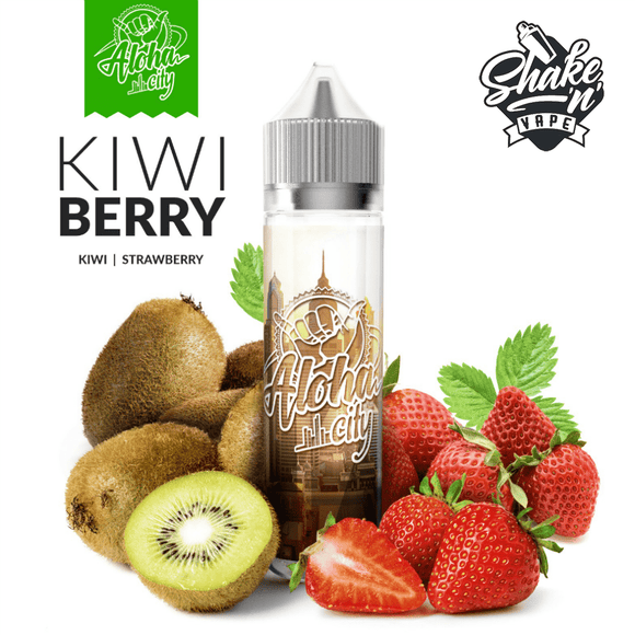 ALOHA CITY MIX-SHAKE-VAPE - 40/60ML - KIWI BERRY (ΑΚΤΙΝΙΔΙΟ & ΦΡΑΟΥΛΑ)