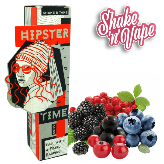 HIPSTER TIME MIX-SHAKE-VAPE - 50/60ML - GIRL WITH A PEARL EARRING (ΦΡΟΥΤΑ ΤΟΥ ΔΑΣΟΥΣ)