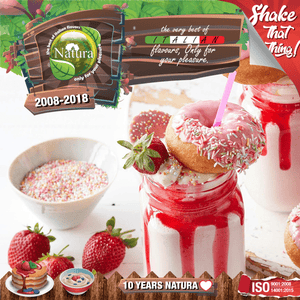 NATURA SPECIAL MIX-SHAKE-VAPE - 60/100ML - STRAWBERRY MILF SHAKE (ΜΙΛΚΣΕΙΚ ΦΡΑΟΥΛΑ)
