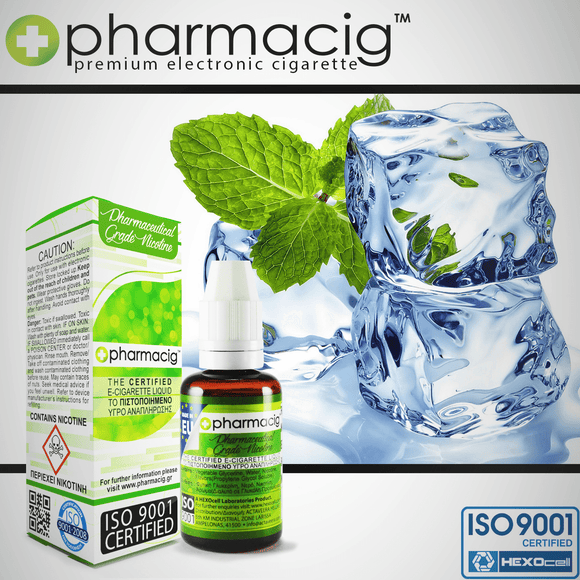 PHARMACIG - 30ML POLAR MINT 80% VG (ΕΝΤΟΝΗ ΜΕΝΤΑ)