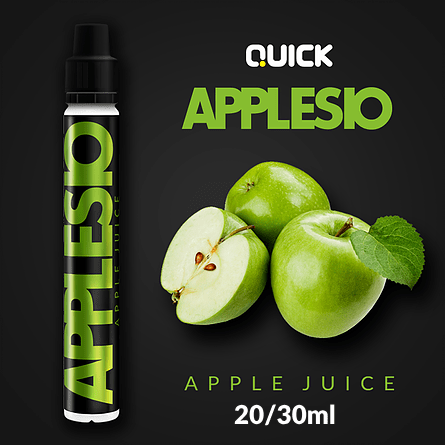 QUICK MIX-SHAKE-VAPE - 20/30ML - APPLESIO (ΧΥΜΟΣ ΜΗΛΟ)