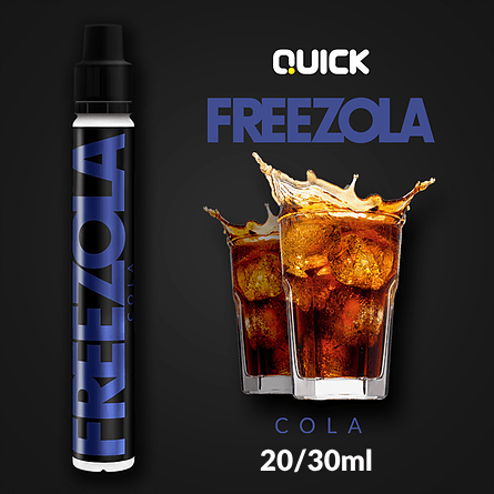 QUICK MIX-SHAKE-VAPE - 20/30ML - FREEZOLA (ΚΟΚΑ ΚΟΛΑ)