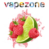 VAPEZONE - 30ML LIME RASPBERRY 60% VG (ΛΑΙΜ & ΣΜΕΟΥΡΟ)