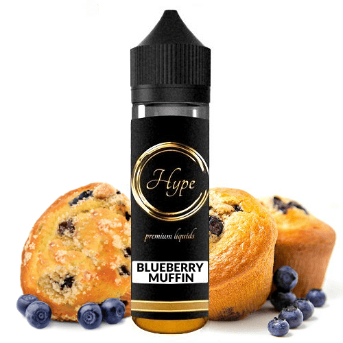 HYPE MIX-SHAKE-VAPE - 12/60ML - BLUEBERRY MUFFIN (ΜΑΦΙΝ ΜΕ ΜΥΡΤΙΛΑ)