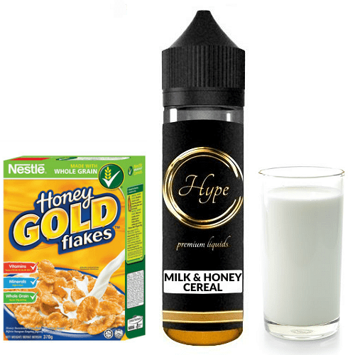 HYPE MIX-SHAKE-VAPE - 12/60ML - HONEY CEREAL & MILK (ΜΕΛΙ-ΔΗΜΗΤΡΙΑΚΑ-ΓΑΛΑ)