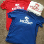 MEN'S MIAMIRICHLIFE BASIC TEE