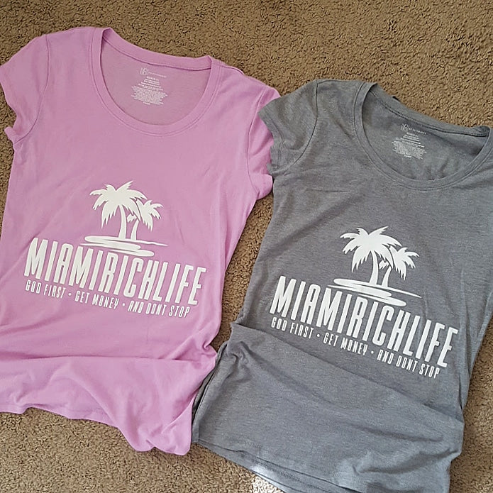 Women's Miamirichlife Tees