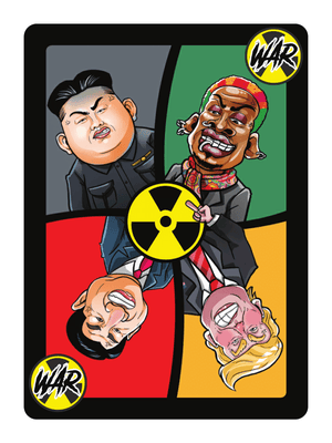 The Kim Jong UNO Card Game