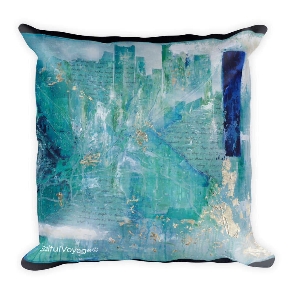 Off To See The Wizard Square Pillow