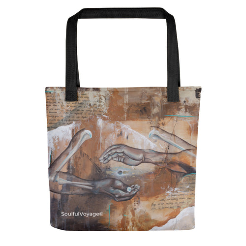 Within This Cage Tote bag