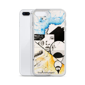 Twin Souls iPhone Case