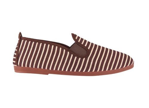 STRIPED PLIMSOLL BROWN