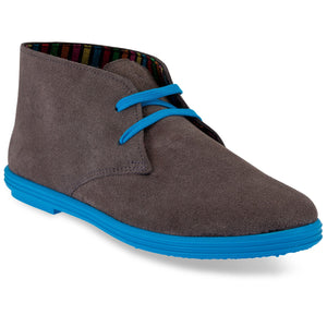 DESERT BOOTS GREY / BLUE