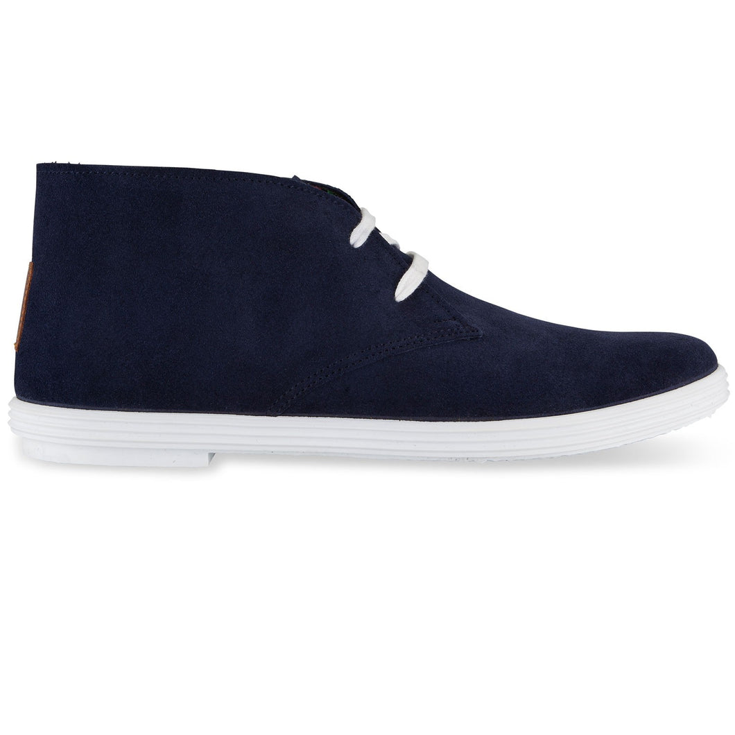 DESERT BOOTS NAVY BLUE / WHITE