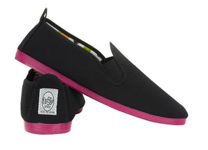 COLOURED SOLE BLACK PINK SOLE